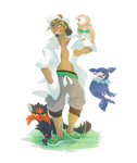 Kukui and Starters || Pokemon Sun and Moon