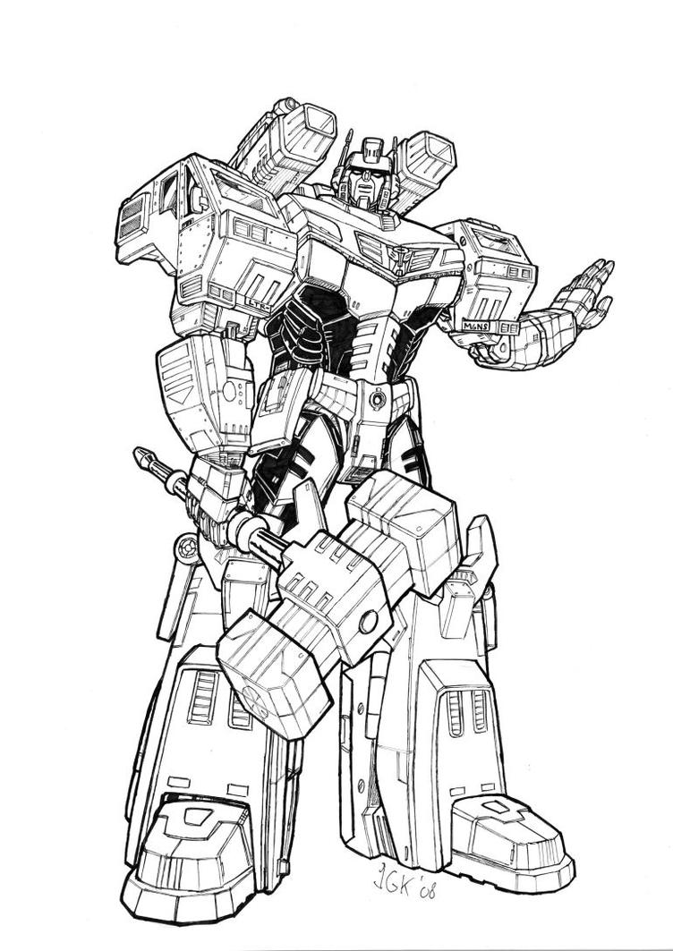 Re Animated Ultra Magnus By Hansime On Deviantart