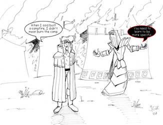 Richard The Warlock and LFG by ctooner on DeviantArt