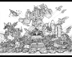 AUTOBOT MICROMASTERS ALLSTARS by hansime