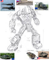 GeeWun Bruticus Concept by hansime