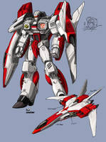 DON's War Within Jetfire by hansime