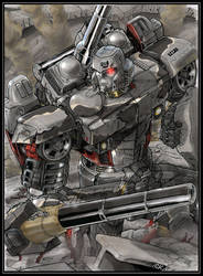 GeeTwo Megatron (touched up version) by hansime