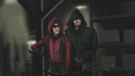 Arrow and Arsenal by hansime