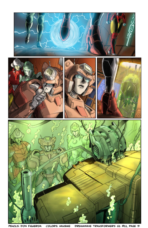 DW Transformers G1 Iss.11 Pg.9