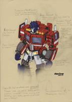 Geewun Movie Optimus Concept by hansime