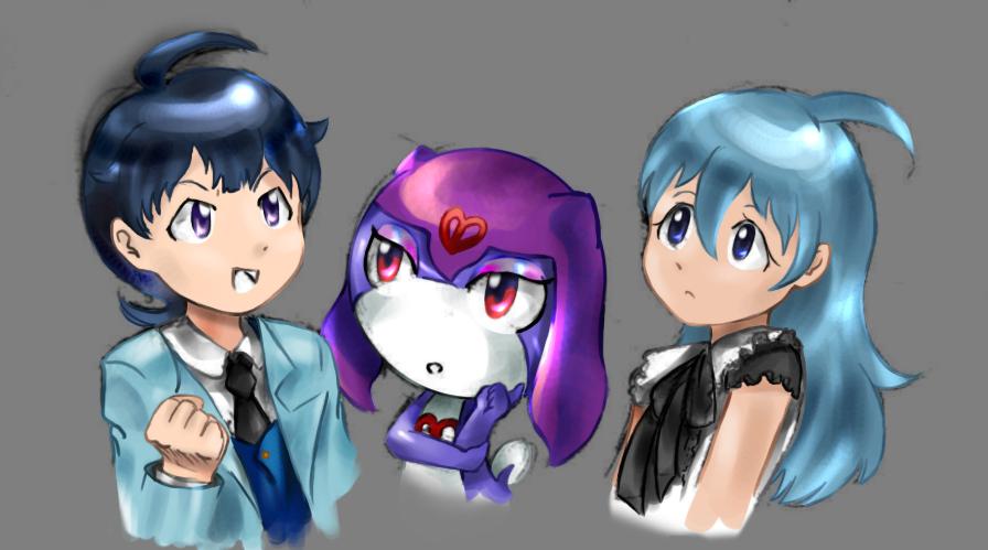 Himani, Pulala and Hanayu by Sunriseoflove