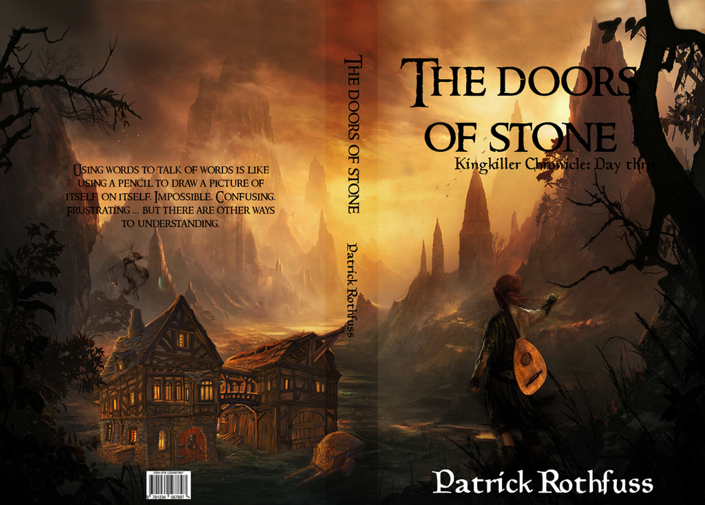 The Doors of stone - book cover by Vyskaj