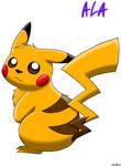 Pikachu - colored
