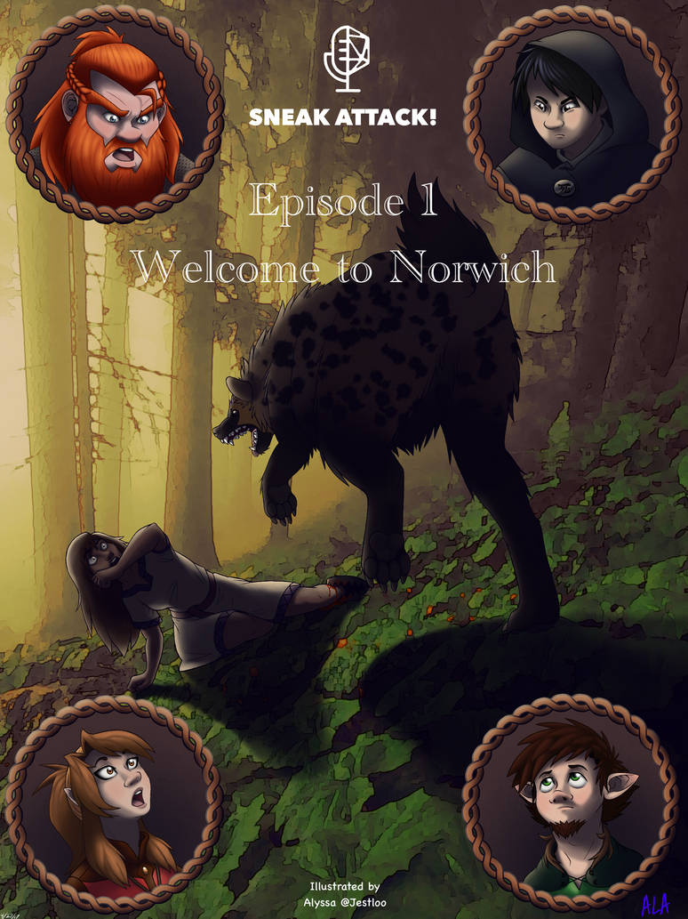 SNEAK ATTACK! Episode 1 - Welcome to Norwich