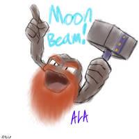 Greaek Stro-, uh, Geodude used Moon Beam