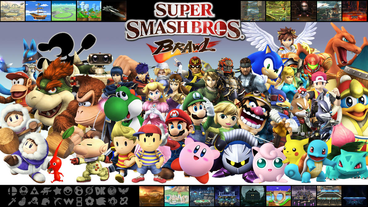 super smash brawl 2