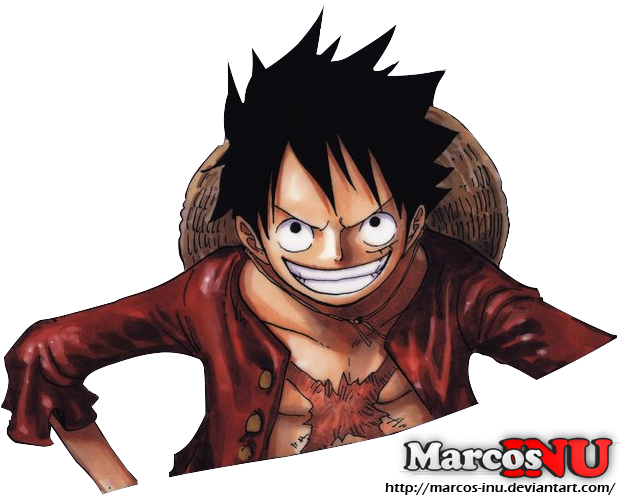 Eleven Supernovas Time Skip - Luffy Render by Marcos-Inu ...