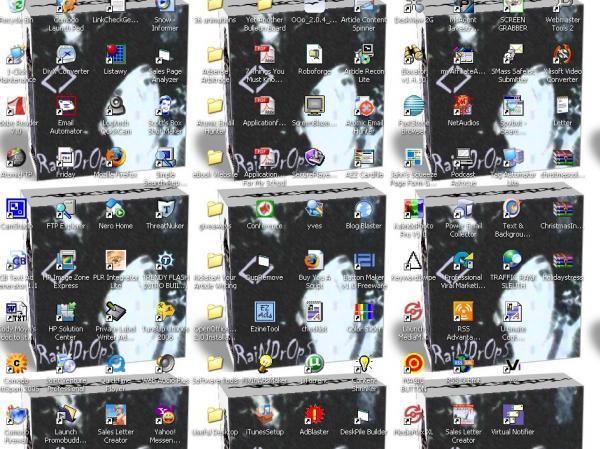 Our desktop by melon-head66