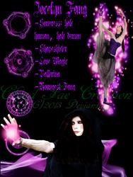 Jocelyn Fang Character Profile Sheet
