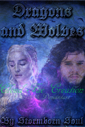 Dragons and Wolves Fanfiction Cover