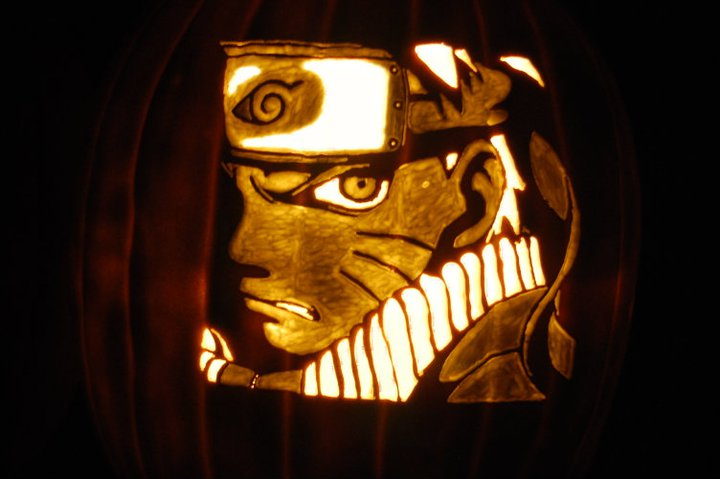 Naruto Pumpkin by kay-kay-is-kewl