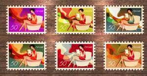 apricum, stamp graphics