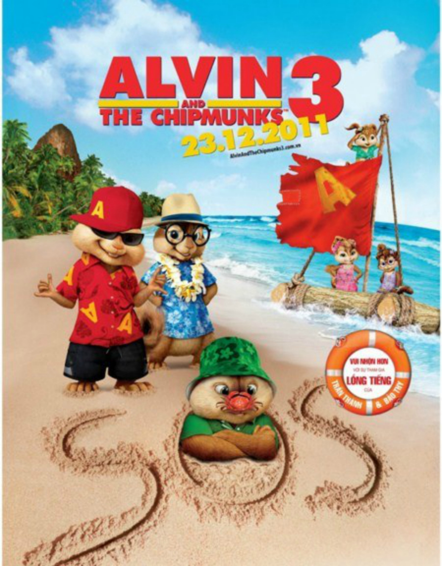 Alvin And The Chipmunks 3 Images alvin and the chipmunks 3 chipwreaked posterimunkettes