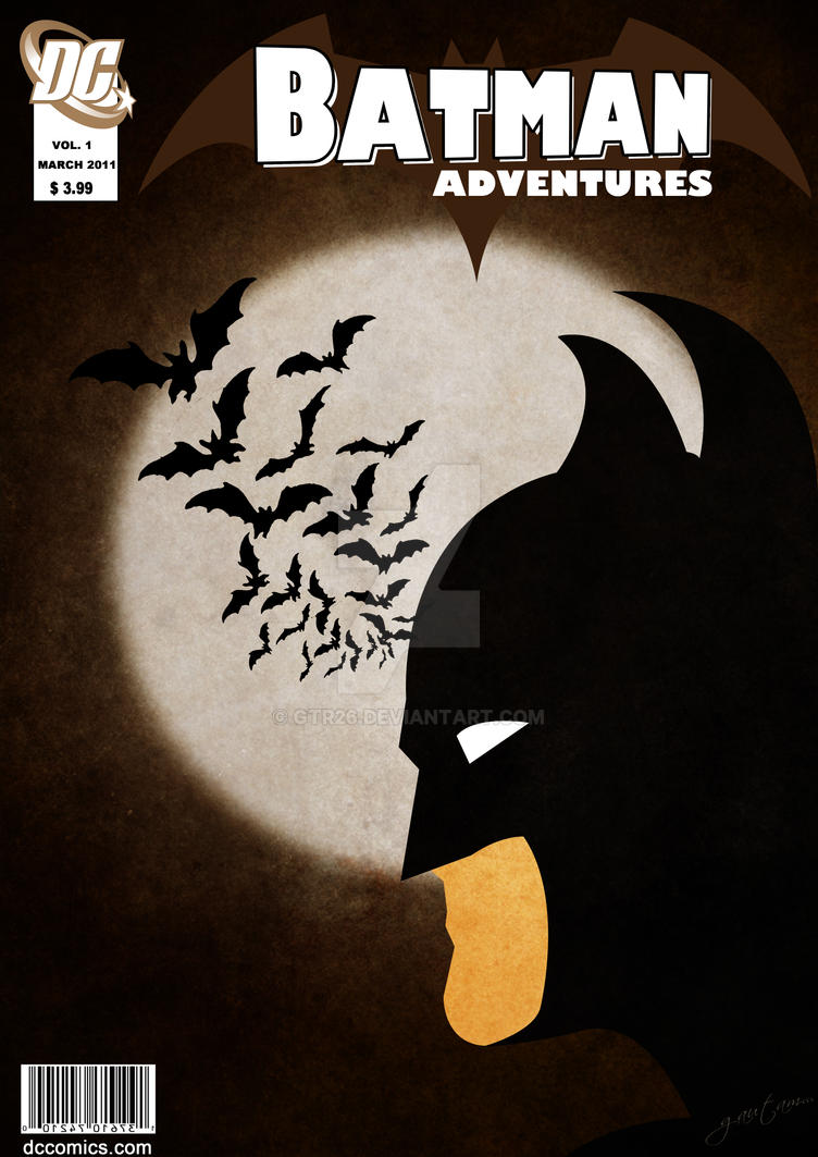 Batman Comic Cover by GTR26