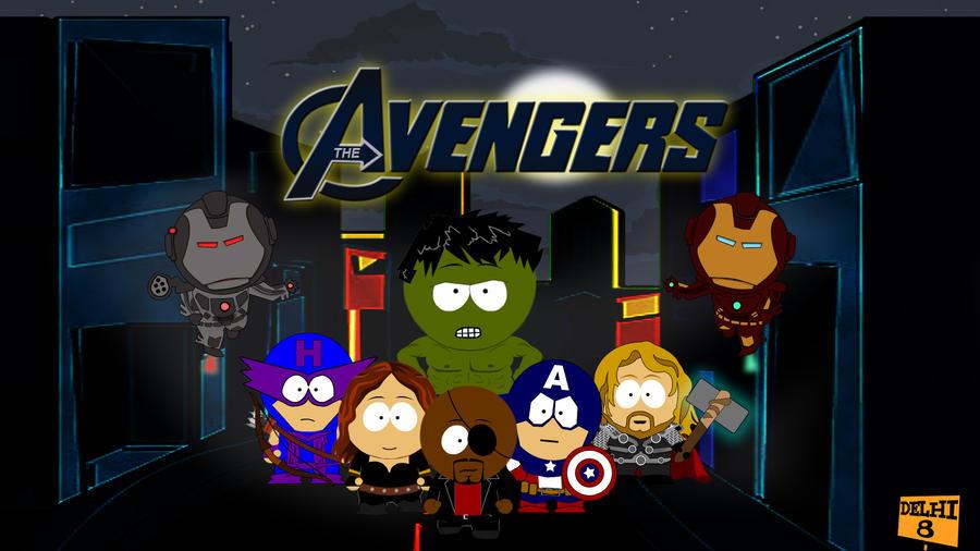 Avengers by GTR26