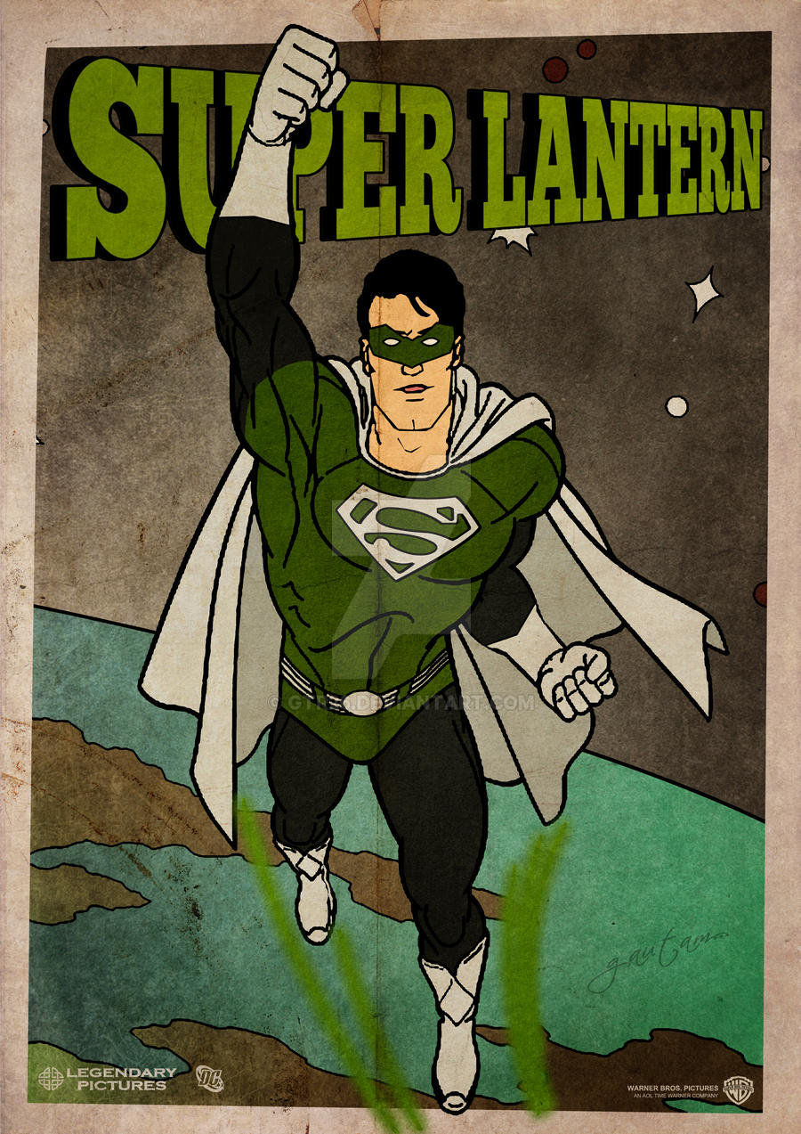 Lantern Series: Superman by GTR26