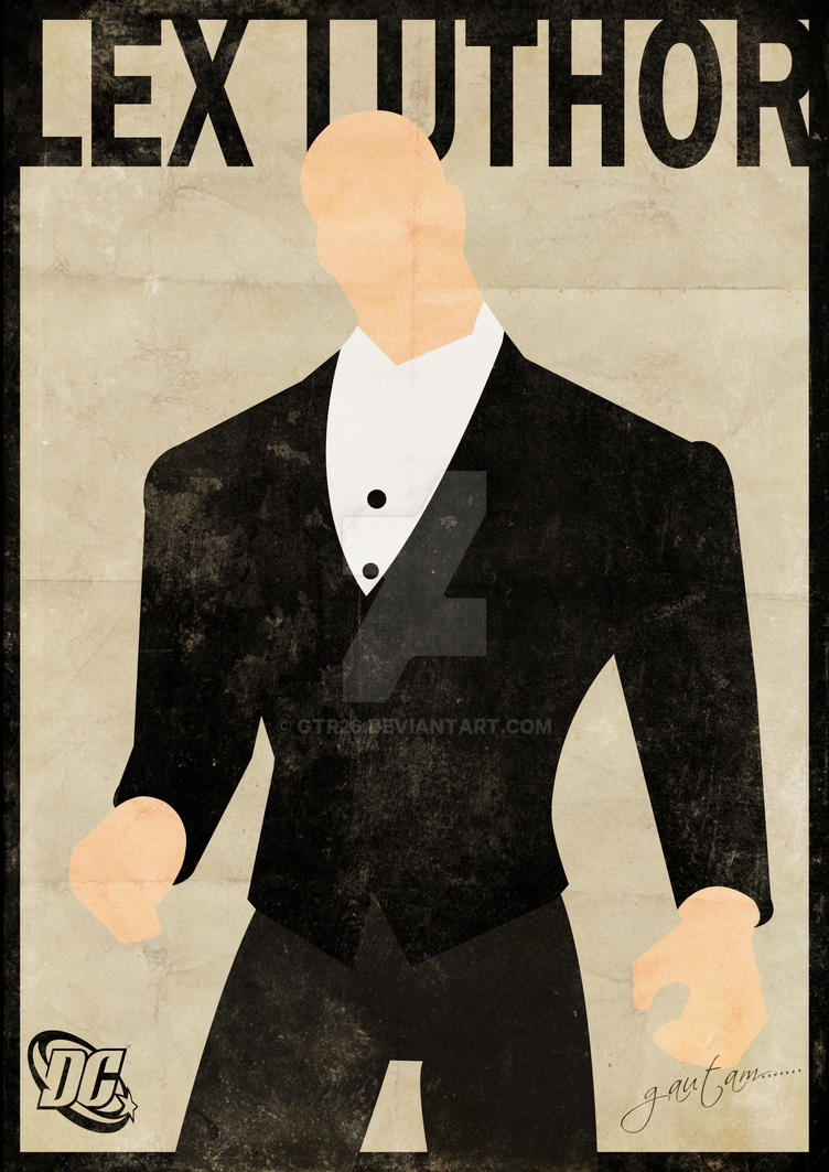 Lex Luthor Minimal Poster by GTR26