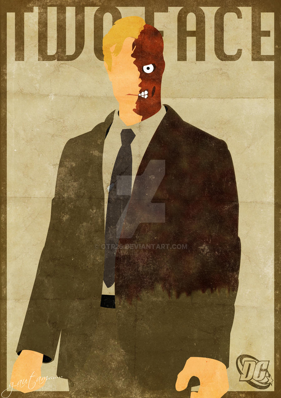 Two face minimal poster by gtr26 on deviantart for Minimal art face