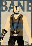 Bane Minimal Poster