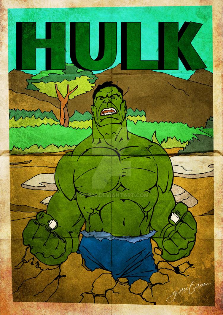 Hulk Vintage by GTR26
