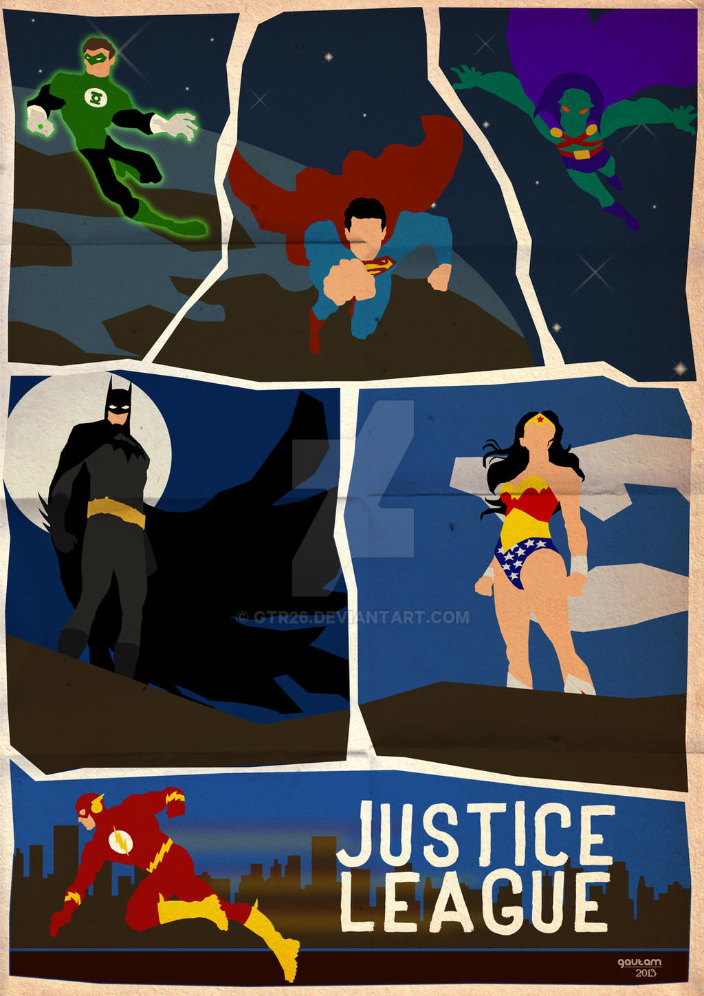 Team Up: Justice League by GTR26