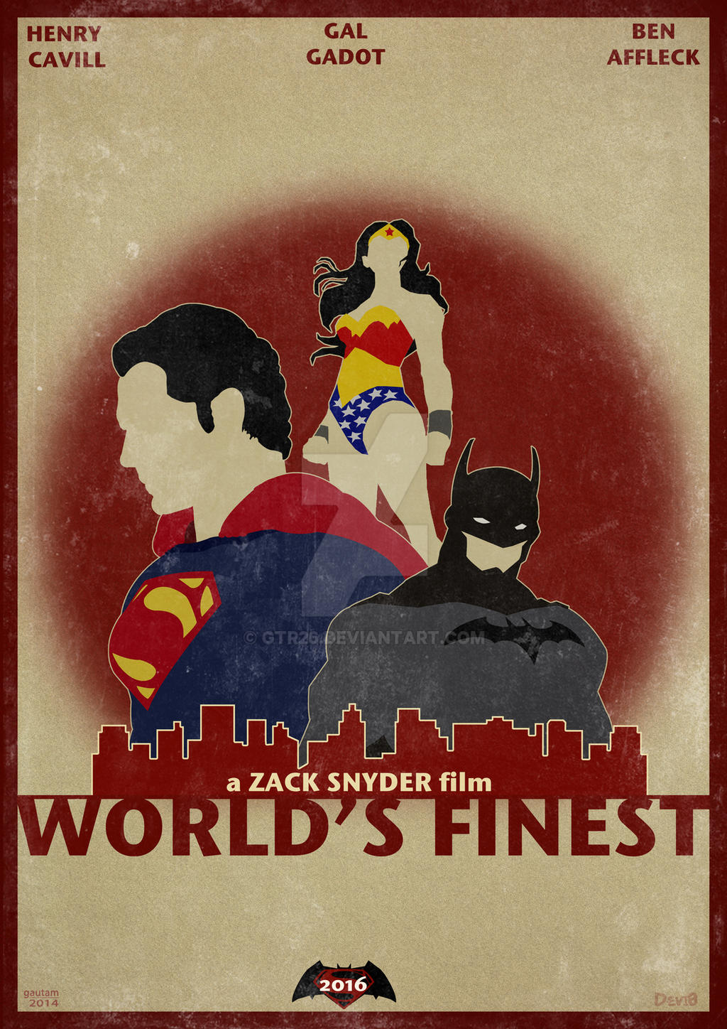 World's Finest (Batman VS Superman) by GTR26