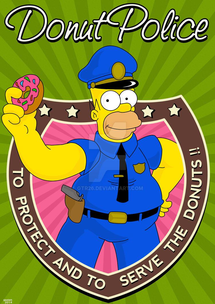 Donut Police by GTR26