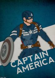 Captain America: True Blue Variant by GTR26