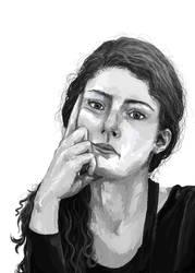 Autoportret by LittleMissLorenor