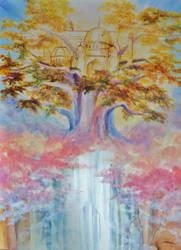 Tree of life by LittleMissLorenor