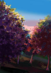 Nature view by LittleMissLorenor