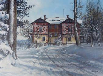 Winter Landscape by joseph-art