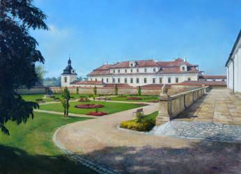 Summer Castle Garden by joseph-art