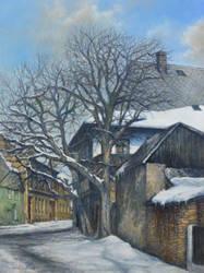 Old Houses of Rychnov by joseph-art
