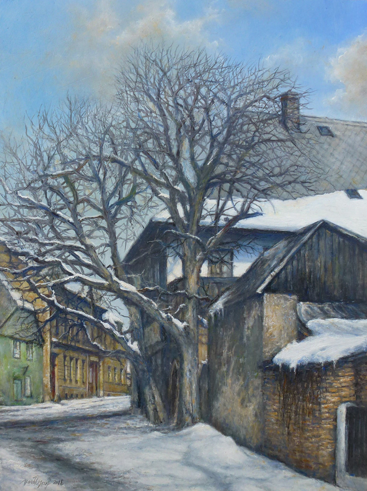Old Houses of Rychnov by joseph-art