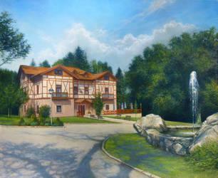 Summer landscape (Studanka) by joseph-art