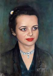 The Portrait of Anne by joseph-art