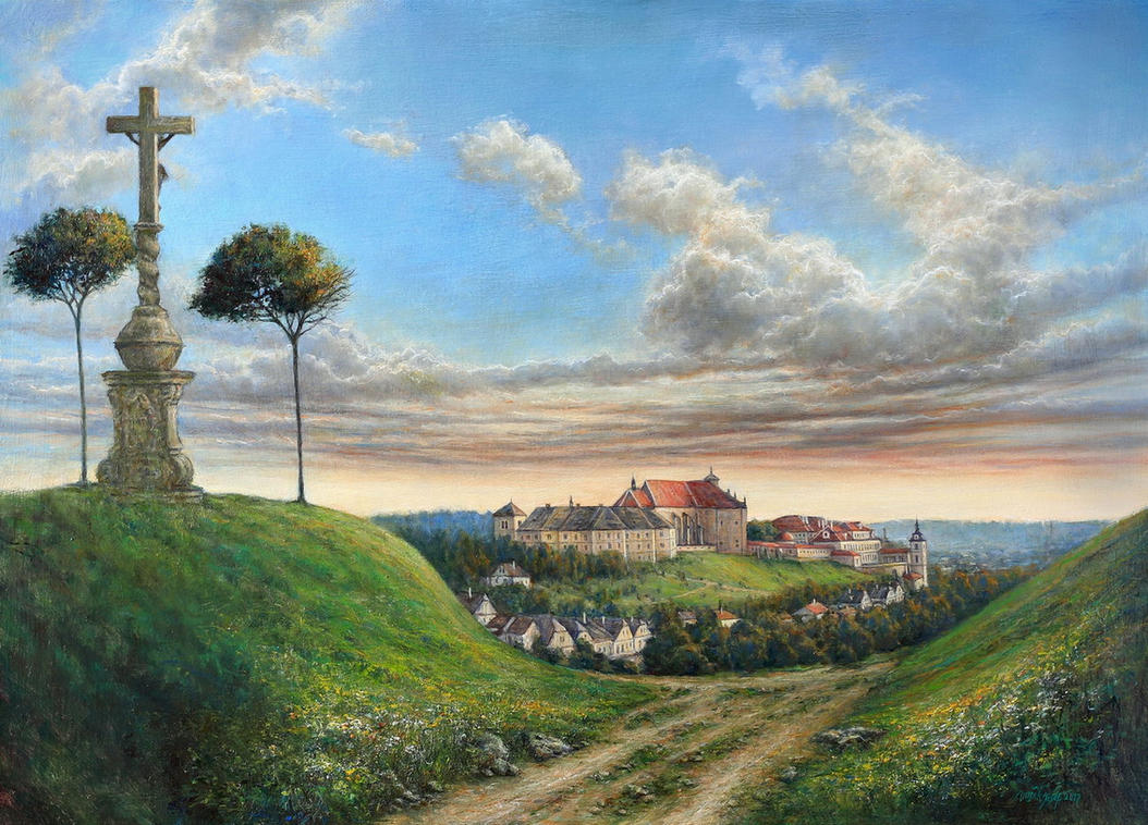 Green Cross View 1890 by joseph-art