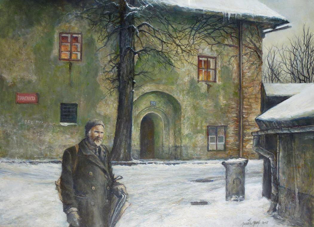 Old Stony House by joseph-art