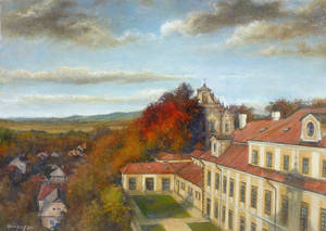 Autumn of Rychnov nad Kneznou Castle