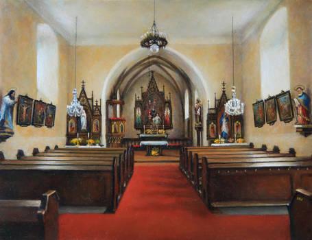 Interior of The St. Gallus Church