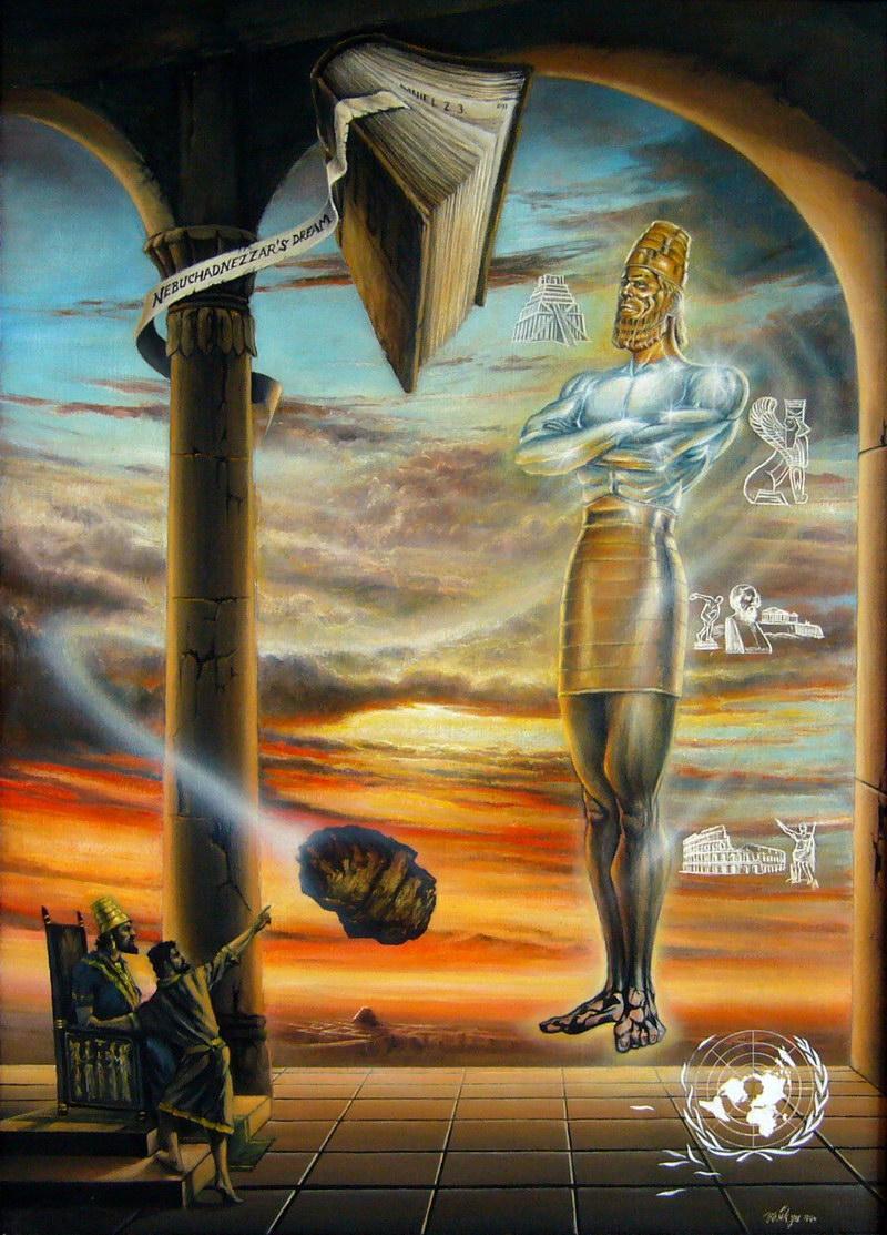 Nebuchadnezzars Dream by joseph art