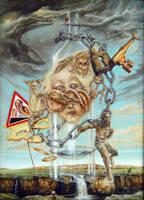 Dangerous Falling by joseph-art