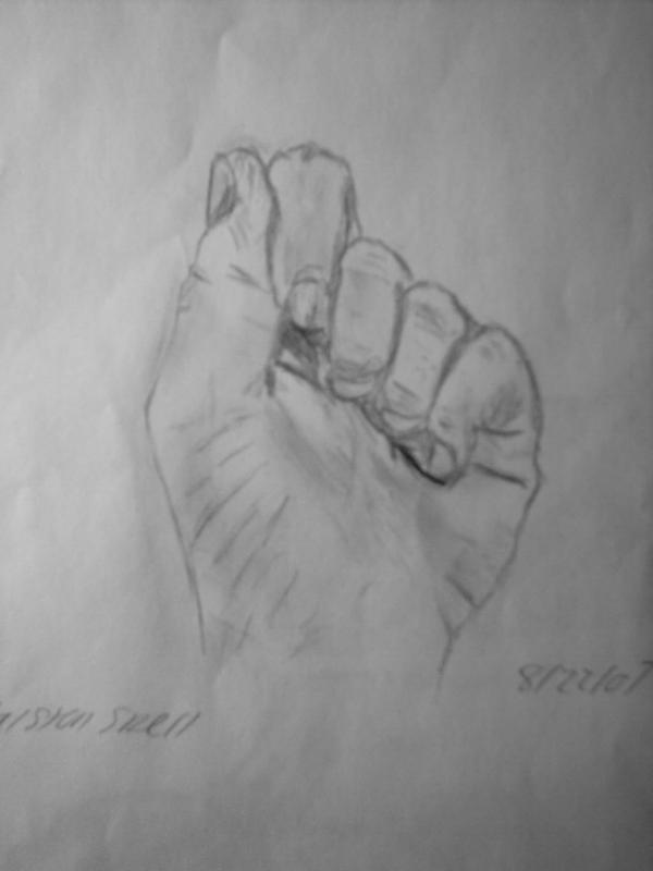 Hand Study 1 by Froggy-Spaztastic